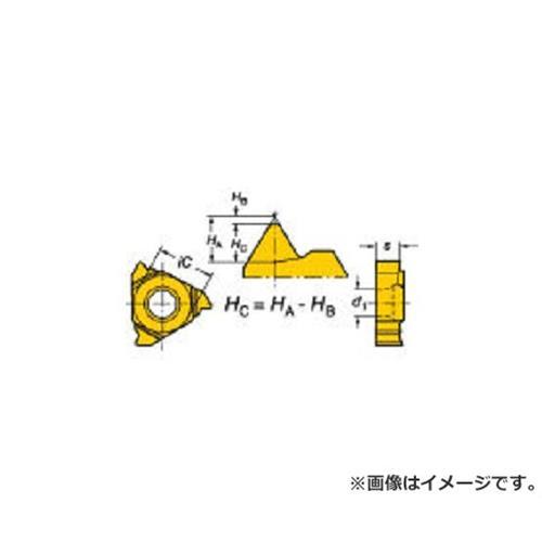 サンドビック T-Max U-ロック ねじ切りチップ 1020 R166.0L11MM01075 ×10個セット (1020) [r20][s9-910]