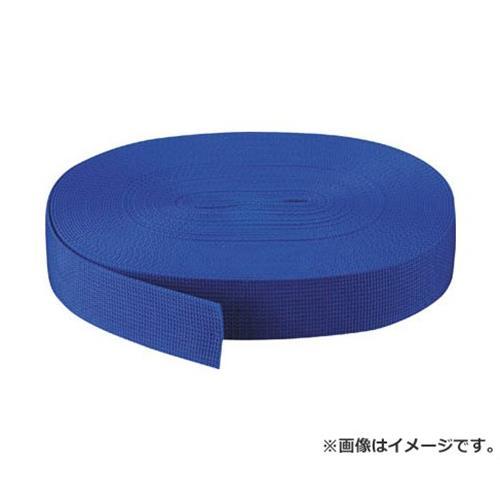 TRUSCO PPベルト幅50mmX長さ50m 青 PPB5050 (B) [r20][s9-830]