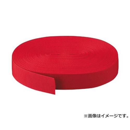 TRUSCO PPベルト幅50mmX長さ50m 赤 PPB5050 (R) [r20][s9-910]
