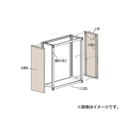 TRUSCO M2型棚用はめ込み式側板 600XH1800 GM266 (NG) [r22][s9-039]
