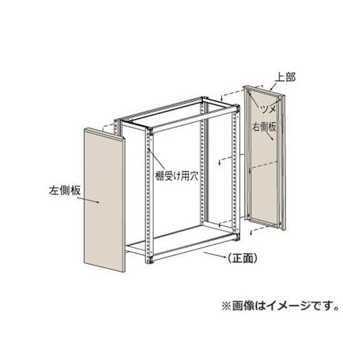 TRUSCO M3・M5型棚用はめ込み式側板 900XH1800 GMM69 (NG) [r22]