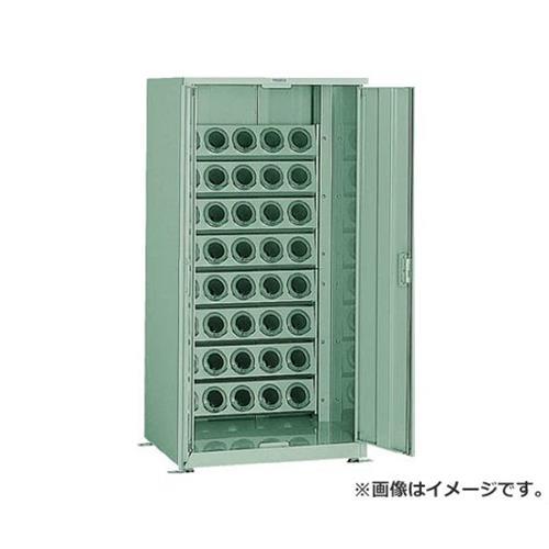 TRUSCO ツーリング保管庫 ホルダ40個 スチール戸 ロック付 BT50 VTL1500D (BT50) [r22]