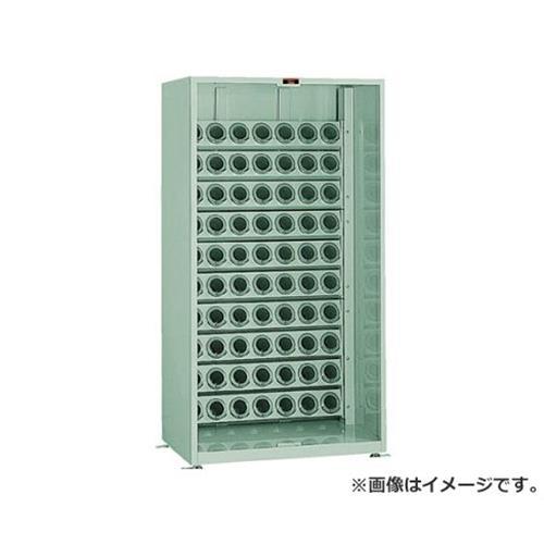 TRUSCO ツーリング保管庫 BT・NT40用X90個 アクリル戸 ロック付 VTL1800AD (BT40) [r22]