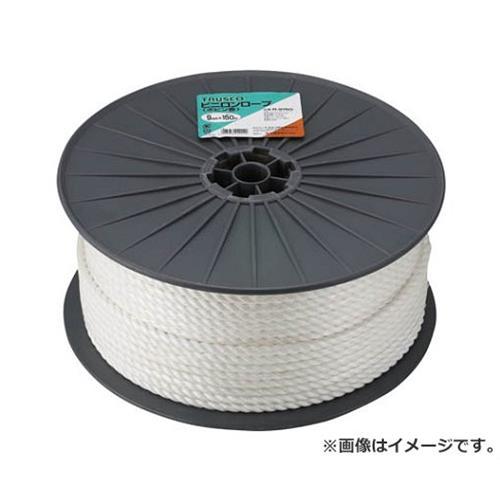 TRUSCO ビニロンロープ 3つ打 線径9mmX長さ150m R9150 [r20][s9-910]