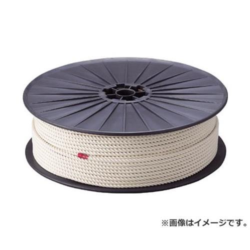 TRUSCO 綿ロープ 3つ打 線径12mmX長さ100m R12100M [r20][s9-910]
