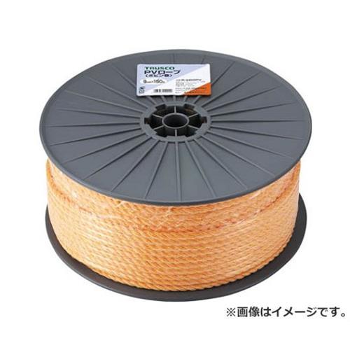 TRUSCO PVロープ 3つ打 線径9mmX長さ150m R9150PV [r20][s9-910]