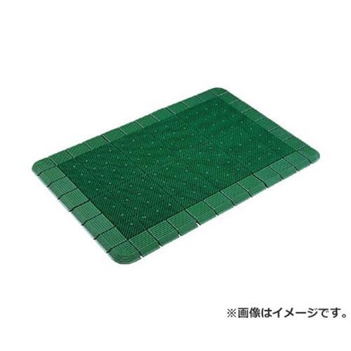 コンドル (屋外用マット)エバックハイローリングマットDX #15 緑 F12115 (GN) [r20][s9-910]