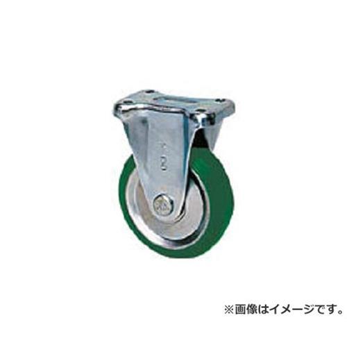 シシク スタンダードプレスキャスター ウレタン車輪 固定 250径 UWK250 [r20][s9-830]