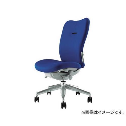ナイキ ミドルバックチェアー 「エネア」 肘なし 布 ブルー ZE510FBL [r22]