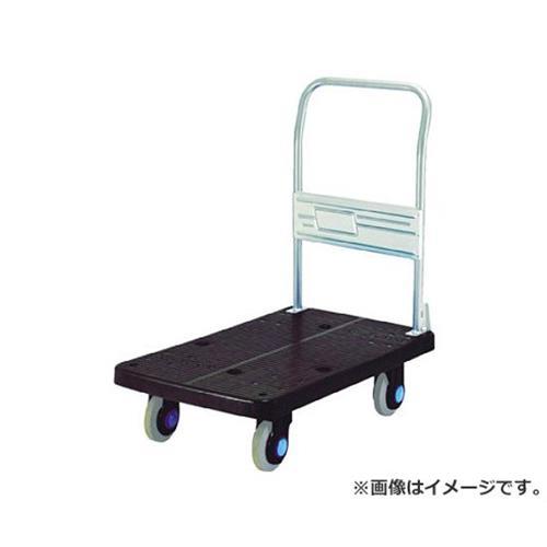 カナツー グリーン静音250kg固定式運搬車 PLA250G [r20][s9-910]