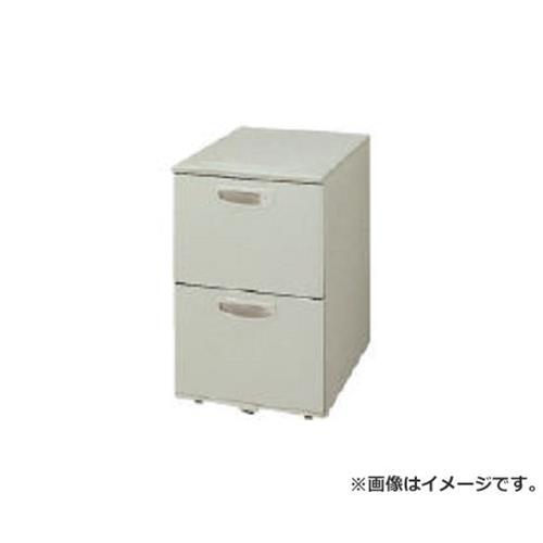 ナイキ ワゴン2段 キャスターロック付 NED046SYCAWH [r22][s9-039]