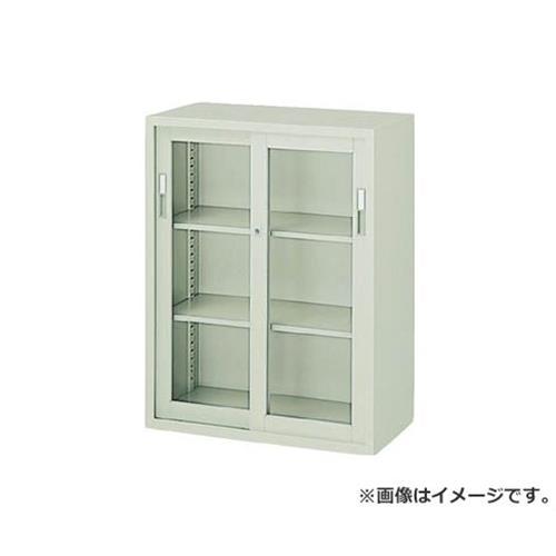 ナイキ ガラス引き違書庫 HG311NG [r22]