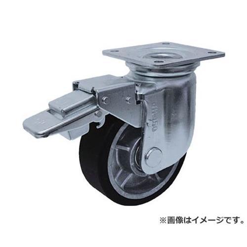 ヨドノ 重荷重用MCナイロン車付自在車ブレーキ付 YRRJMB200 [r20][s9-910]