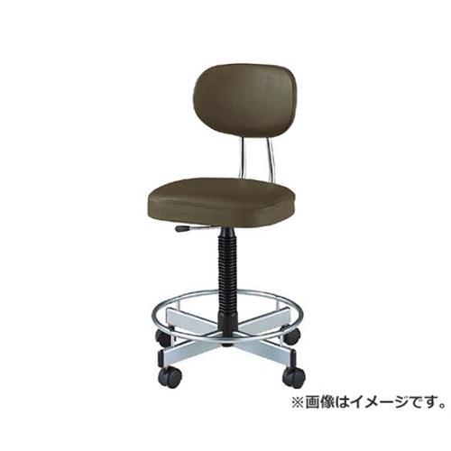 ノーリツ 導電オフィスチェア 導電ビニールレザー 肘なし 黒 TLE17L (BK) [r20][s9-910]