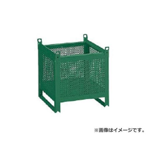 TRUSCO ミニカーゴ パンチング型 450X450XH450 VJ452 [r20][s9-920]