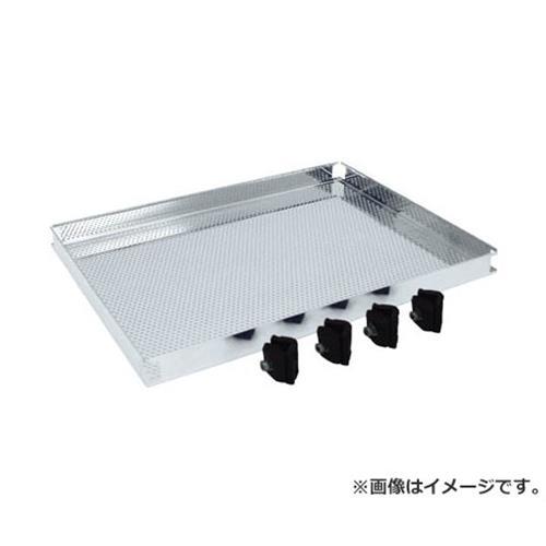 TRUSCO ステンレス製導電性ワゴン用棚板 600X450 パンチング TT31TP [r20][s9-910]