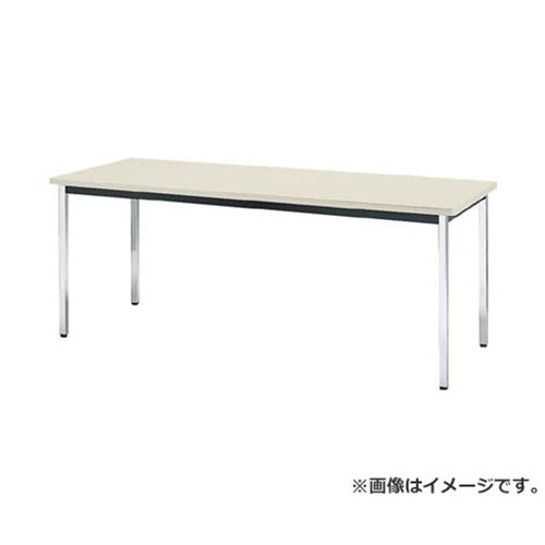 TRUSCO 会議用テーブル 1800X750XH700 角脚 下棚無し NG TDS1875 (NG) [r20][s9-832]