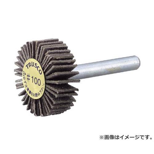 TRUSCO ダイヤ軸付フラップホイール オールダイヤ Φ50X軸径6 180# PDF50206A (180) [r20][s9-910]