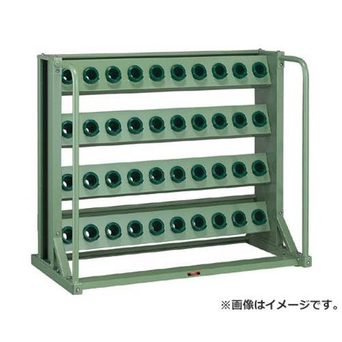 TRUSCO ツーリングラック BT・NT40兼用 40個収納 ロック付 VTL410 [r22]