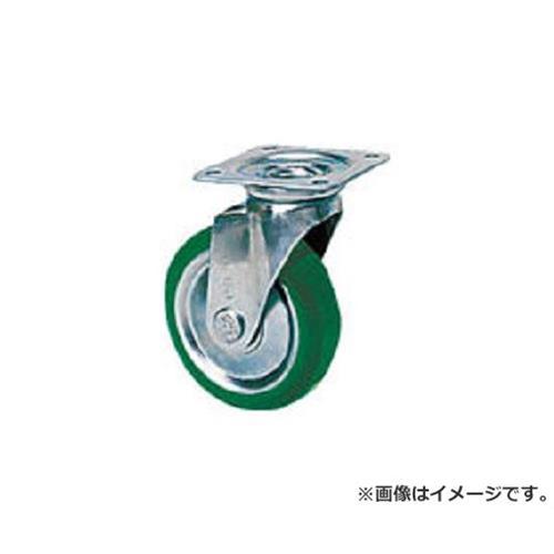 シシク スタンダードプレスキャスター ウレタン車輪 自在 300径 UWJ300 [r20][s9-910]