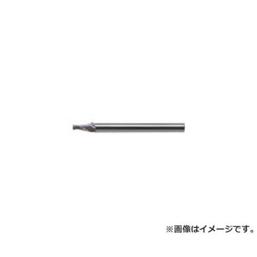 ユニオンツール 超硬エンドミル テーパ φ0.6×片角 1° CCTE20062 [r20][s9-910]