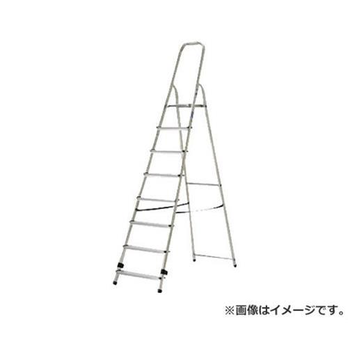 アルインコ 上枠付専用脚立 天板高さ162cm 最大使用質量150kg TBF8 [r20][s9-910]