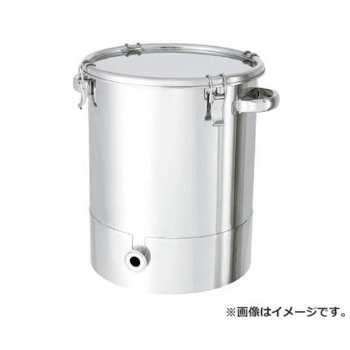 日東 ステンレスタンク片テーパー型クリップ式密閉容器 150L KTTCTH565 [r20][s9-940]