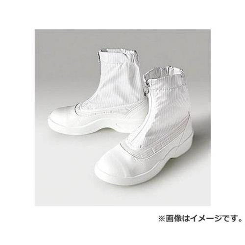 ゴールドウイン 静電安全靴セミロングブーツ ホワイト 24.0cm PA9875W24.0 [r20][s9-910]