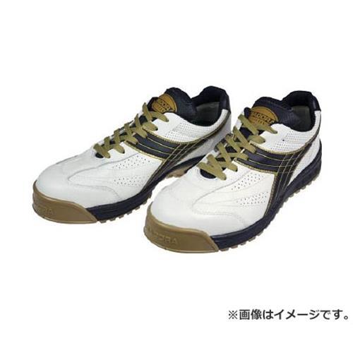 ディアドラ DIADORA 安全作業靴 ピーコック 白/黒 27.5cm PC12275 [r20][s9-910]