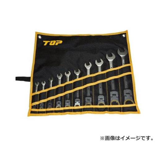TOP 首振りラチェットコンビセット FRC10000S 10本入
