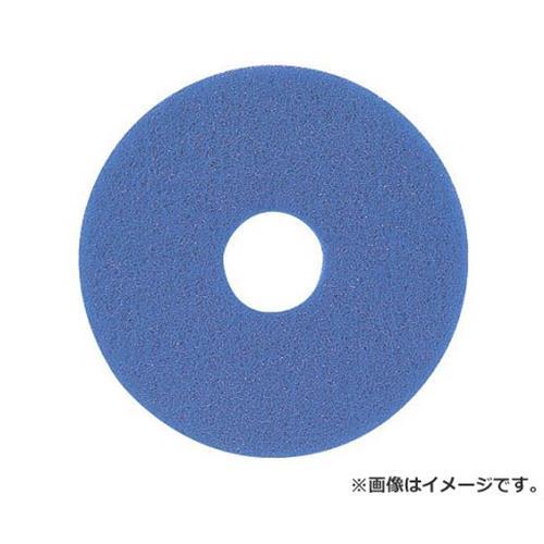アマノ フロアパッド15 青 HEQ911300 ×5枚セット [r20][s9-910]