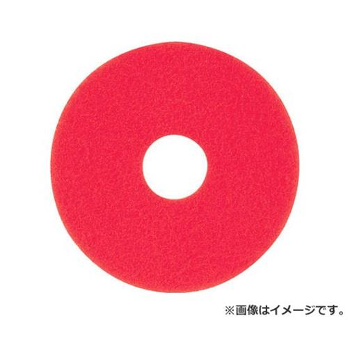 アマノ フロアパッド13 赤 HEC801500 ×5枚セット [r20][s9-830]