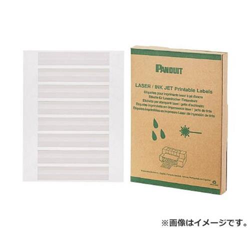 パンドウイット レーザープリンタ用回転ラベル 白 R100X075X1J 2500枚入 [r20][s9-930]