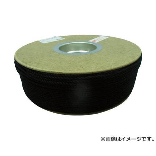 ユタカ ポリエステルロープ ドラム巻 3φ×300m 黒 PRS71 [r20][s9-910]