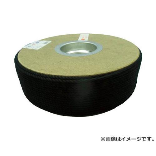ユタカ ポリエステルロープ ドラム巻 4φ×200m 黒 PRS81 [r20][s9-910]