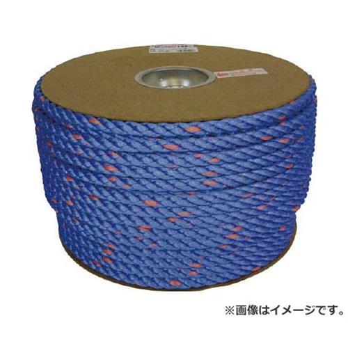 ユタカ タストンロープ ブルー ドラム巻 12φ×100m 青 PRVP62 [r20][s9-910]