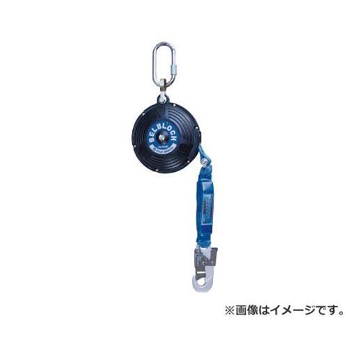 ツヨロン ベルト巻取式ベルブロック(6mタイプショック付き) BB60BX 1台入 [r20][s9-920]