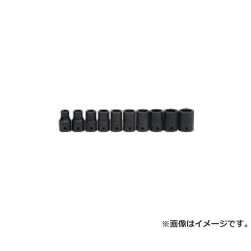 WILLIAMS 1/2ドライブ ディープソケットセット 6角 10個 インパク JHWMS1410HRC [r20][s9-910]