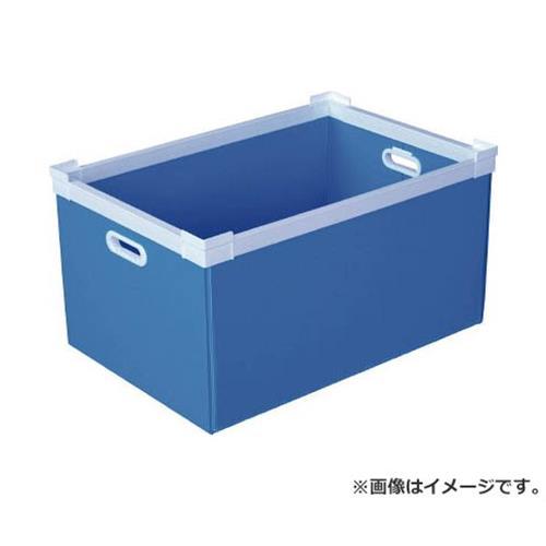 KUNIMORI プラダン NSコンテナ 75L(SWコーナー)ライトブルー 78502NS75LLB [r20][s9-900]