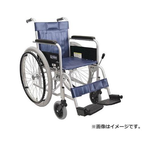 カワムラ スチール製車椅子 座幅42CM KR801N [r20][s9-910]