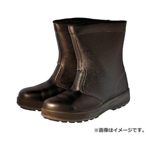 シモン 安全靴 半長靴 WS44黒 23.5cm WS44BK23.5 [r20][s9-910]