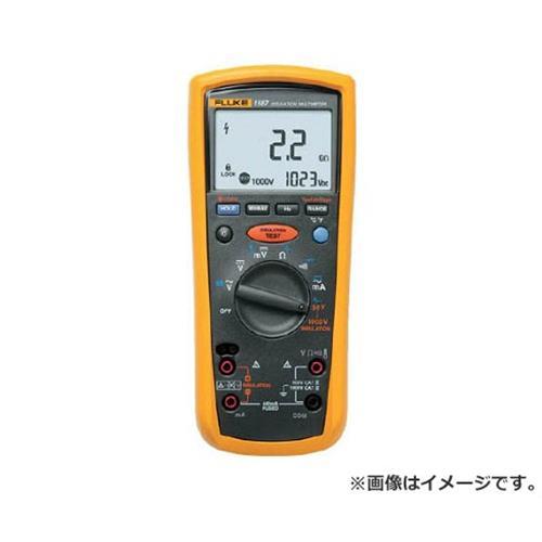 FLUKE デジタル・マルチメーター付絶縁抵抗計(5レンジ) 1587 [r20][s9-910]