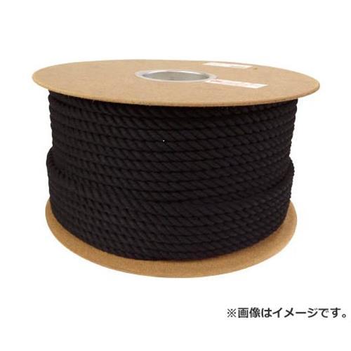 ユタカ ロープ 綿ロープドラム巻 9φ×150m ブラック PRC51 [r20][s9-910]