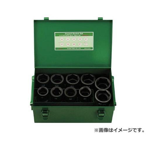 FPC インパクト セミロングソケット セット 差込角25.4mm 10pc 8WAS10 [r20][s9-910]