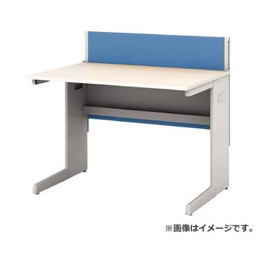 アイリスチトセ デスクパネル・コンセント付デスク幅1000mm ブルー CPD1070WBL [r22]
