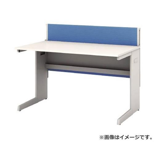 アイリスチトセ デスクパネル・コンセント付デスク幅1200mm ブルー CPD1270WBL [r22]