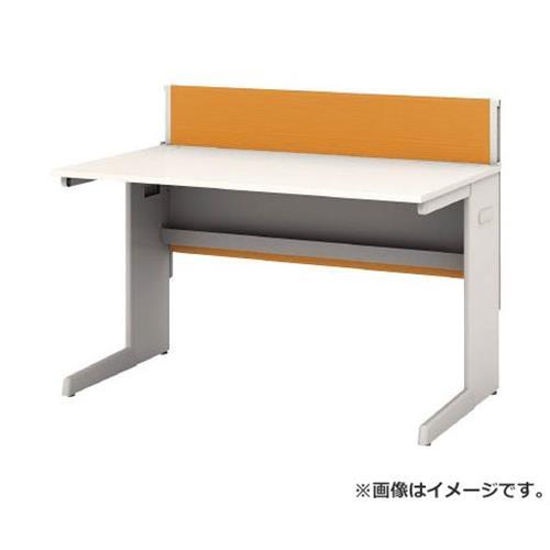 アイリスチトセ デスクパネル・コンセント付デスク幅1200mm オレンジ CPD1270WOG [r22]