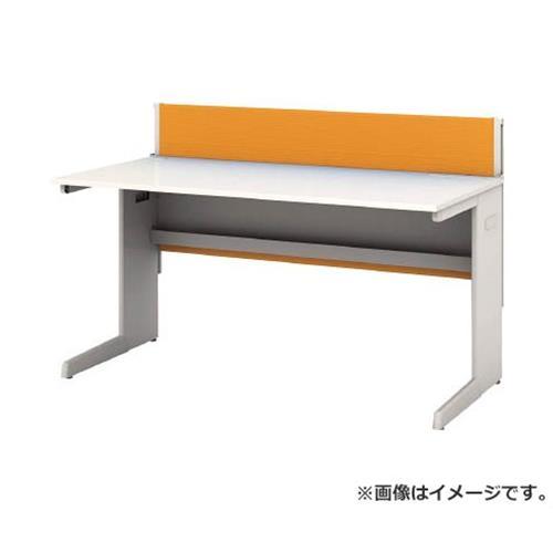 アイリスチトセ デスクパネル・コンセント付デスク幅1400mm オレンジ CPD1470WOG [r22]
