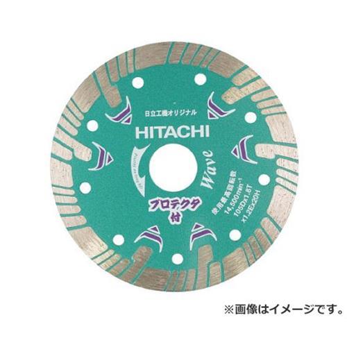 日立 ダイヤモンドカッター 180mmX25.4 (波形) プロテクタ 324703 [r20][s9-910]