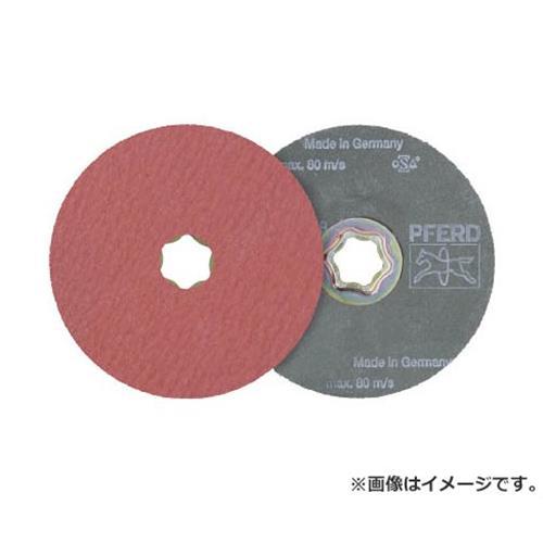 PFERD ディスクペーパー コンビクリック酸化アルミナ COOLタイプ 836163 ×25枚セット [r20][s9-910]